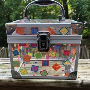 Caboodles Clear Spiral Cosmetics Box
